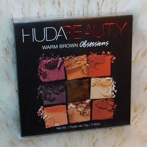 HUDA BEAUTY Warm Brown Obsessions Palette